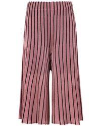 Osklen - Pleated Bicolor Trousers - Lyst