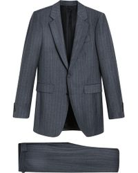 Burberry - Slim Fit Pinstripe Wool Cashmere Suit - Lyst