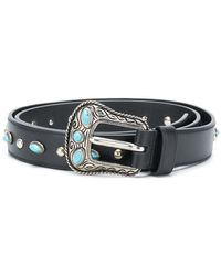 Prada - Embellished Belt - Lyst