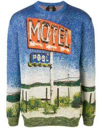 N°21 - Printed Sweater - Lyst