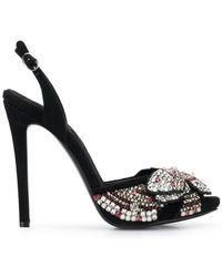 Ermanno Scervino - Crystal Embellished Sandals - Lyst