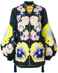 Yuliya Magdych - Pansies Embroidered Tunic - Lyst