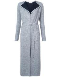 Gabriela Hearst | Contrast Lining Cardigan Coat | Lyst