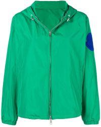 Moncler - Logo Patch Windbreaker Jacket - Lyst