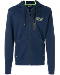 EA7 | Zipped Track Jacket | Lyst