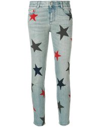 Stella McCartney - Stars Skinny Jeans - Lyst