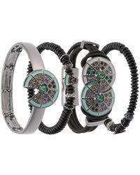 Camila Klein four bracelets set - Metallic bBDwlKXaV