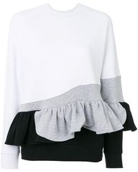 Ioana Ciolacu - Sweatshirt With Ruffle Detail - Lyst