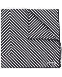 Tom Ford - Striped Scarf - Lyst