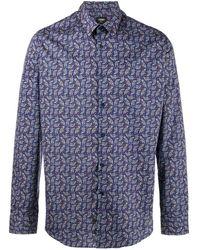 Fendi - Camisa con estampado Jaguar - Lyst