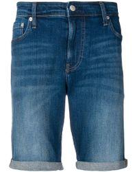 Calvin Klein - Short en denim - Lyst