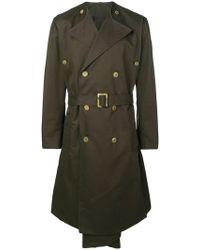 Hed Mayner - Trenchcoat mit Taschen - Lyst