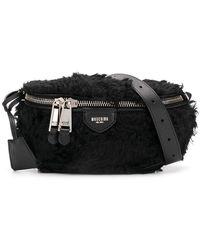 Moschino - Faux Fur Belt Bag - Lyst