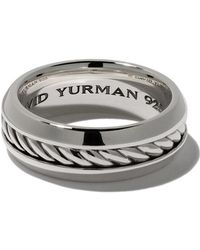 David Yurman - Cable Classic Band Ring - Lyst