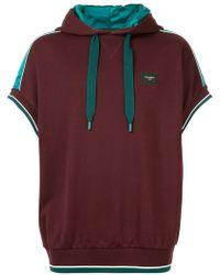 Dolce & Gabbana - Colour-block Short Sleeve Hoodie - Lyst