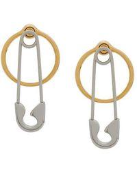 Alexander Wang - Safety Pin Earrings - Lyst