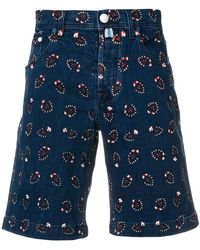 Jacob Cohen - Printed Shorts - Lyst