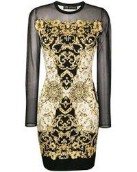 Versace - Baroque Print Dress - Lyst