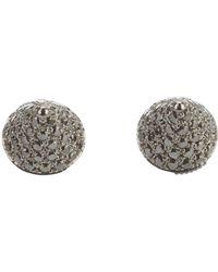 Elise Dray - Diamond 'mini Muse' Earrings - Lyst