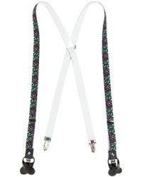 Fefe - Paint Splatter Braces - Lyst