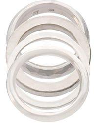 Werkstatt:münchen Flat Ring - Metallic