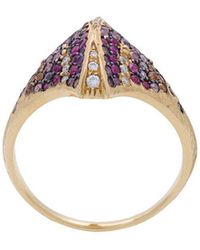 Venyx - Kaleidoscopic Tiger Ray Ring - Lyst