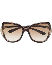 2dc7df26e0aa Lyst - Tom Ford  lucho  Sunglasses in Gray