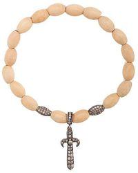 Loree Rodkin - Sword Charm Bracelet - Lyst