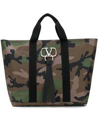 Valentino Сумка-тоут Garavani С Логотипом Vring - Многоцветный