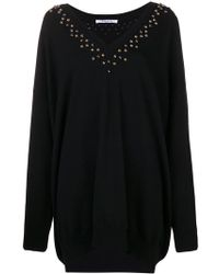 Givenchy - Embellished Long-sleeve Sweater - Lyst