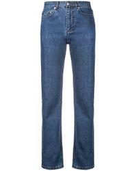 A.P.C. - Straight Leg Jeans - Lyst
