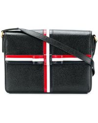Thom Browne - Pebbled Leather Gift-box Bag - Lyst