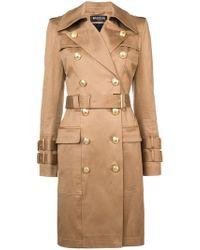 Balmain - Double-breasted Trench Coat - Lyst