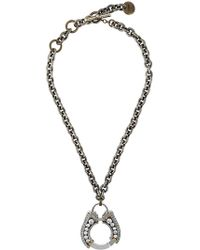 Lanvin - Pendant Necklace - Lyst