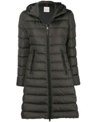 Moncler - Zipped Padded Coat - Lyst