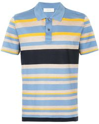 Cerruti 1881 - Multi-stripe Polo Shirt - Lyst