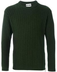 Moschino | Crew Neck Sweater | Lyst