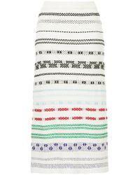 Novis - Striped Skirt - Lyst