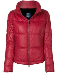 Jacob Cohen - Padded Puffer Jacket - Lyst