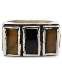 Henson - Triple Floral Ring - Lyst