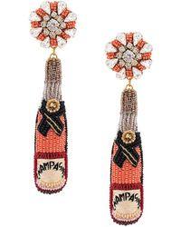 Mignonne Gavigan - Champagne Earrings - Lyst