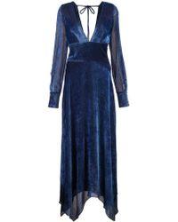 Yigal Azrouël - Long Textured Dress - Lyst