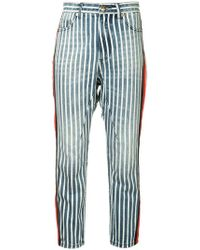 P.E Nation - Jeans mit Streifen - Lyst