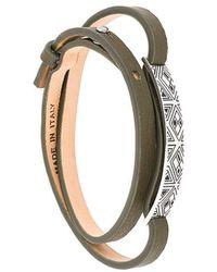 Northskull | Woto Tag Bracelet | Lyst