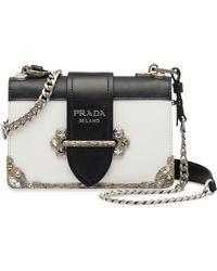Prada - Cahier Bag - Lyst