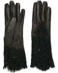 Ermanno Scervino - Lace Insert Gloves - Lyst