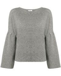 Allude - Flared Sleeve Sweater - Lyst