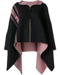 Emilio Pucci - Logo Stripe Poncho Jacket - Lyst