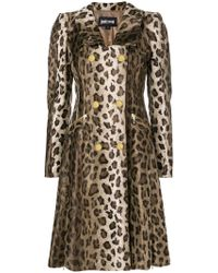 Just Cavalli - Leopard Print Coat - Lyst