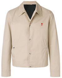 AMI - Snap Button Jacket - Lyst